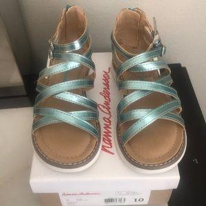 Hanna Andersson Little Girl's Gladiator sandals